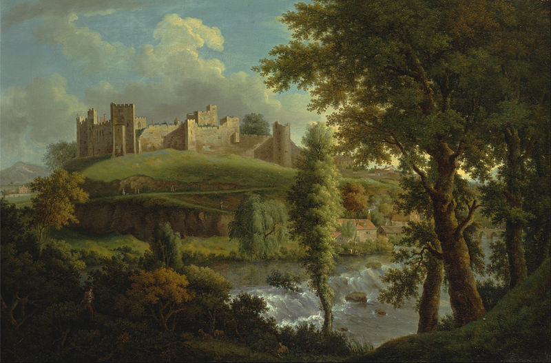 800px-Samuel_Scott_-_Ludlow_Castle_with_Dinham_Weir,_from_the_South-West_-_Google_Art_Project