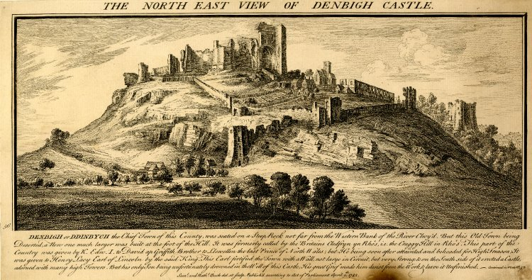 Denbigh_Castle,_Buck_brothers