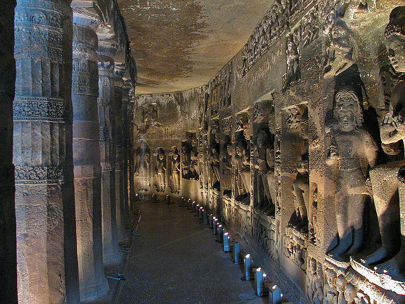 Ajanta,_Inside_a_Cave