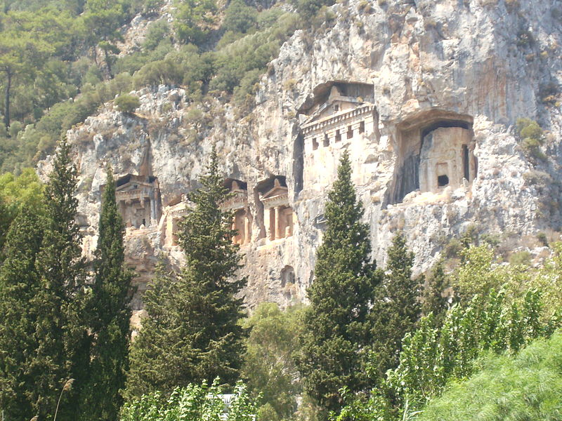 Lycian_Kings_Tombs-Dalyan