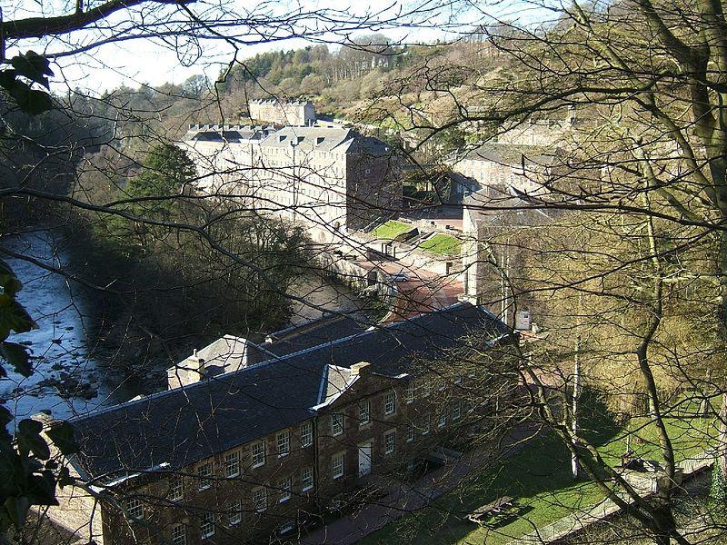 New_Lanark_village