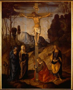 Public Crucifixtion- human rights abuses