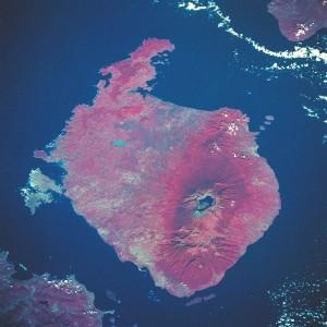 supervolcanoo Rinjani_volcano_satellite