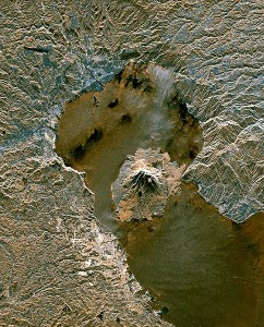 Sakura-jima_from_space supervolcano