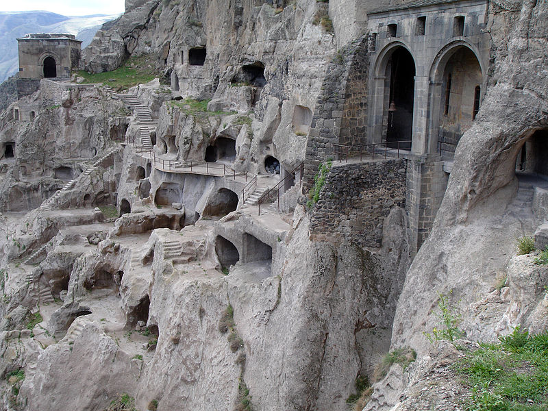 Vardezia_city_cave,_Georgia