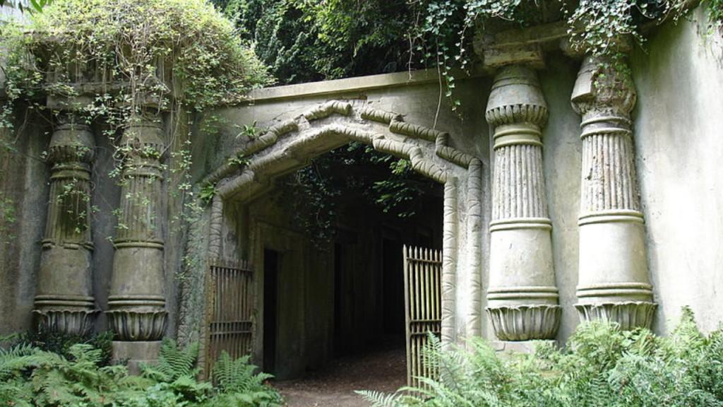 haunted graveyards