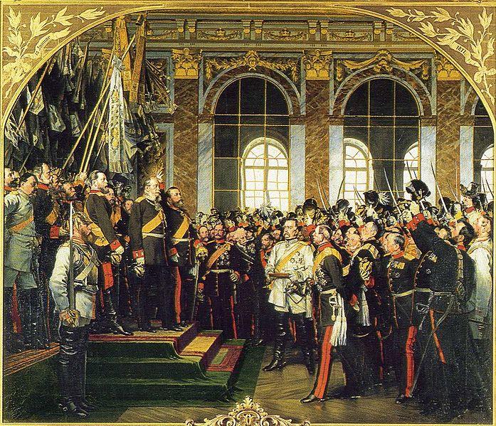 697px-Anton_von_Werner_-_Kaiserproklamation_in_Versailles_1871