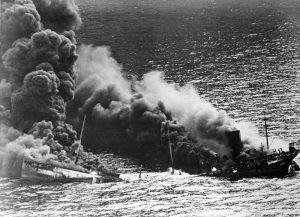 Allied_tanker_torpedoed