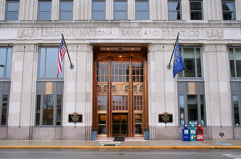 Fort-wayne-indiana-lincoln-tower-entrance