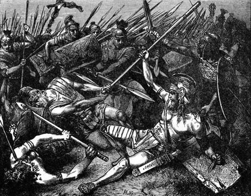 Spartacus-death