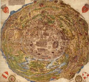 battle of viena Meldeman-Plan