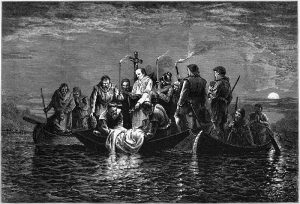Burial_of_de_Soto_-_engraving