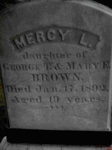 MercyBrownGravestone