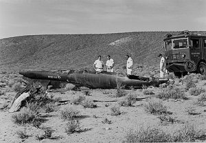 Michael_Adams_X-15_crash_site Space Shuttle Disasters