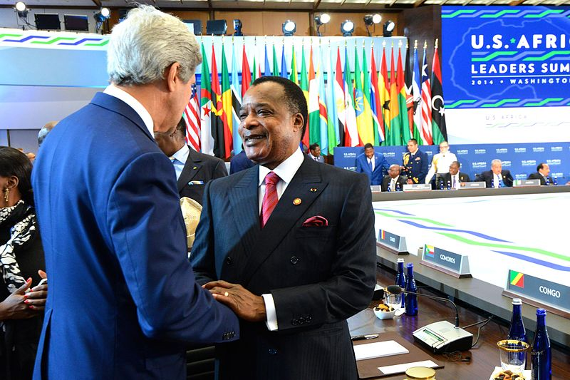 Secretary_Kerry_greets_President_Sassou