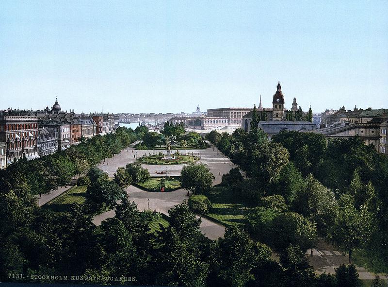 Stockholm_Kungsträdgården_(1890-1900)