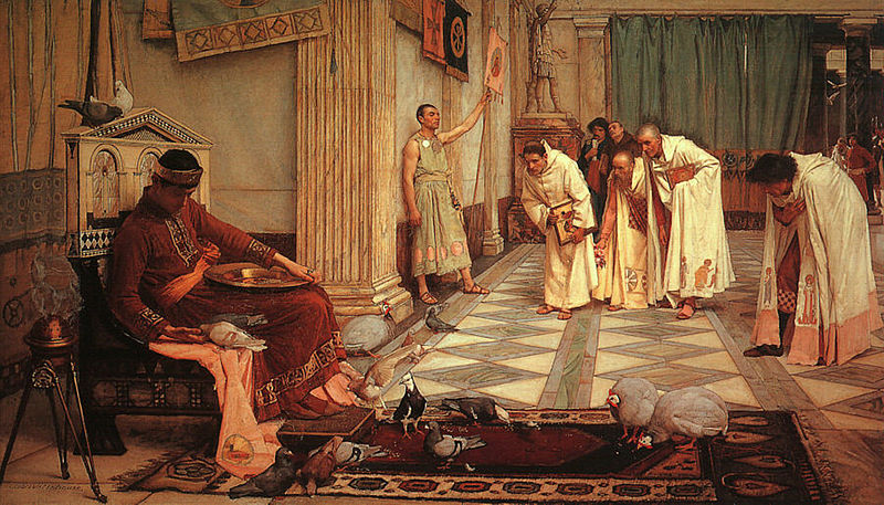 800px-John_William_Waterhouse_-_The_Favorites_of_the_Emperor_Honorius_-_1883