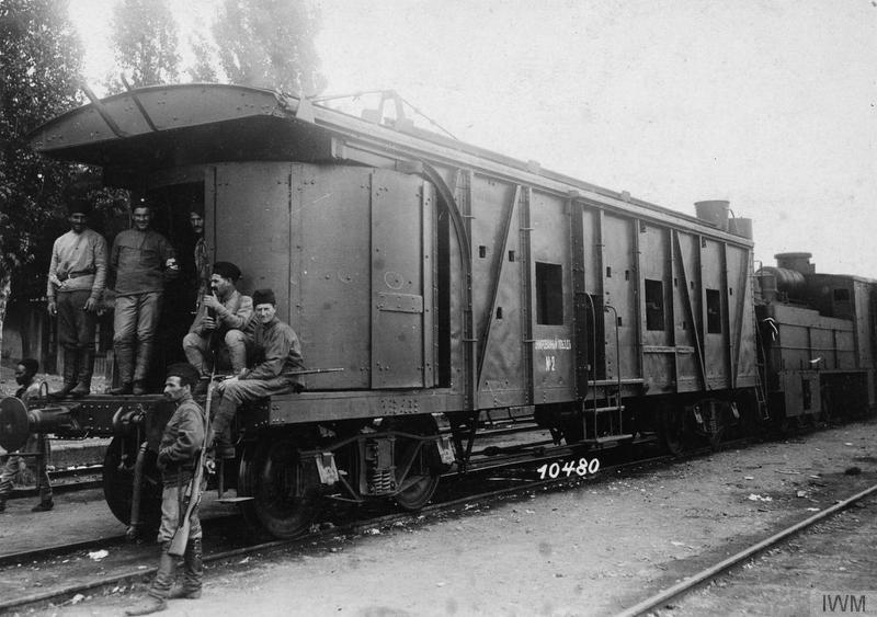 Armoured_train,_occupied_by_Georgian_irregular_fighters,_in_Tiflis_IWM_(Q_86730).