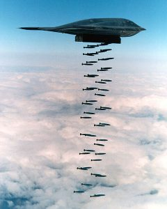 B-2_spirit_bombing Military Vehicles