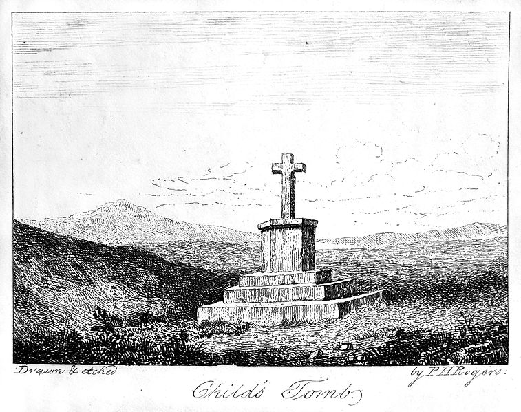Child's_Tomb_from_Carrington's_Dartmoor