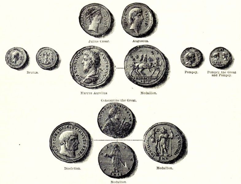 Coins_of_the_Roman_Replic_and_Empire_-_from_Cassell's_History_of_England,_Vol._I_-_anonymous_author_and_artists