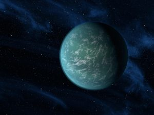 Kepler22b-artwork Exraterrestrial Life
