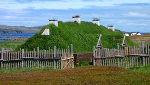 L'Anse_aux_Meadows,_recreated_long_house Lost Cities