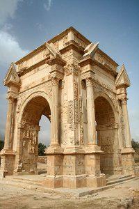 Leptis_Magna_Arch_of_Septimus_Severus Lost Cities