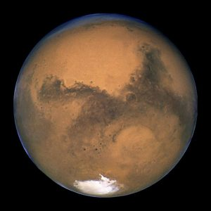 Mars_23_aug_2003_hubble extraterrestrial life