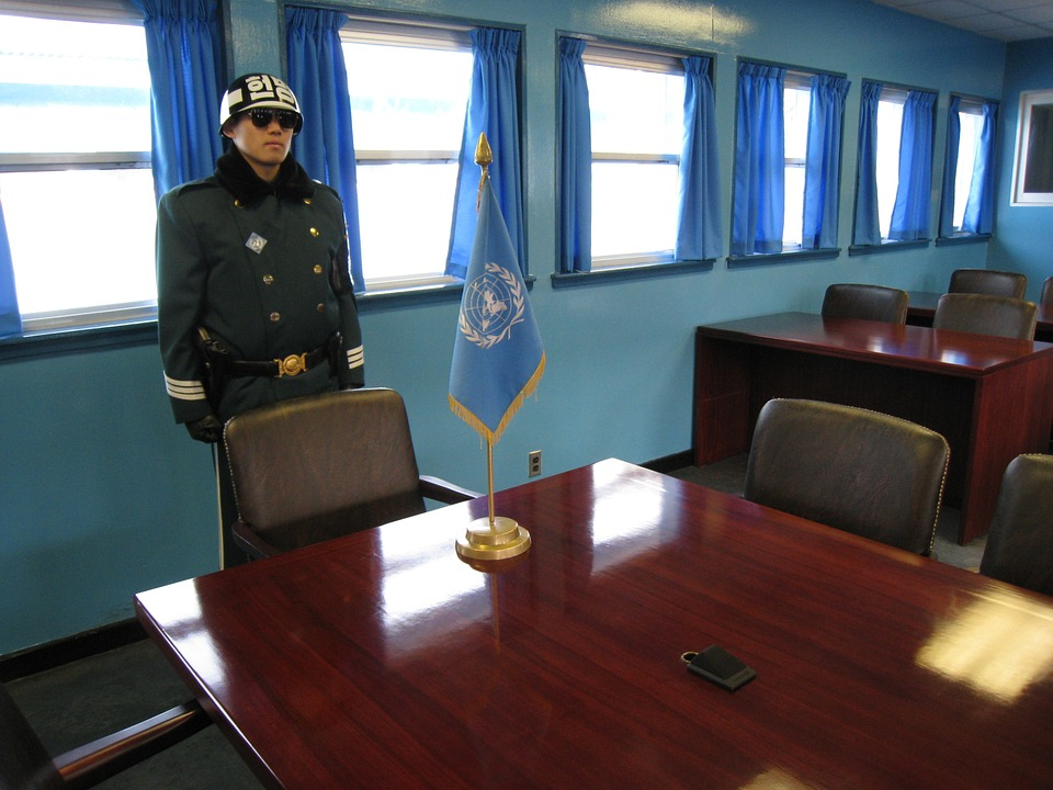 North-Korea border