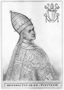 Pope_Benedict_IX_Illustration Evil Popes