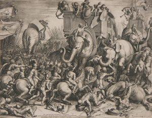 Slaget_ved_Zama_-_Cornelis_Cort,_1567 Roman battles