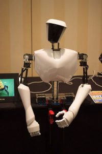 Virginia_Tech's_CHARLI_humanoid_robot_on_display_at_AAAI_2010 militray vehicles