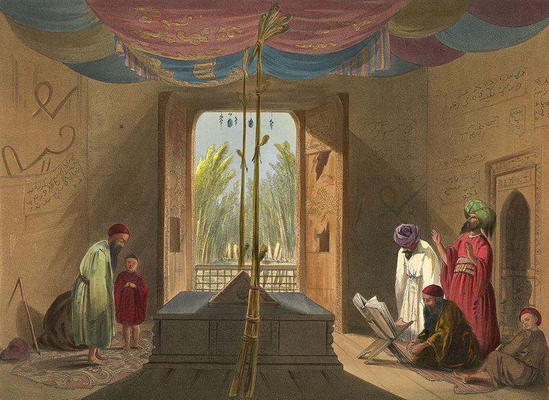800px-Tomb_of_Sultan_Mahmud_of_Ghazni_in_1839-40