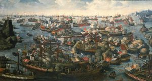 Sea battles Battle_of_Lepanto_1571
