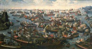 Sea battles Battle_of_Lepanto_1571