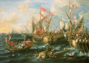 Sea battles Castro_Battle_of_Actium