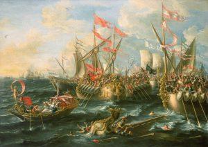 Sea battles Castro_Battle_of_Actium
