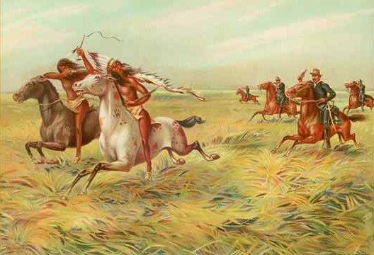 Cavalry_and_Indians longest wars in history