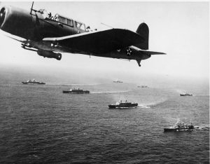 Sea Battles Convoy_WS-12_en_route_to_Cape_Town,_1941