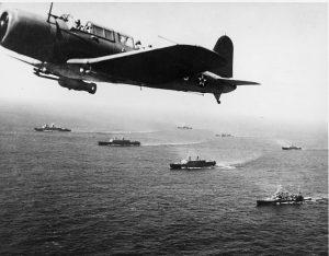 Sea Battles Convoy_WS-12_en_route_to_Cape_Town,_1941