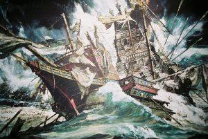 Sea Battles GalleassGirona