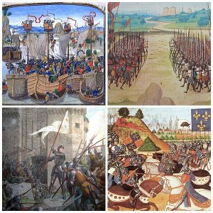 Hundred_years_war_collage longest wars in history