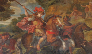 conquerors Painting_of_Cyrus_the_Great_in_battle