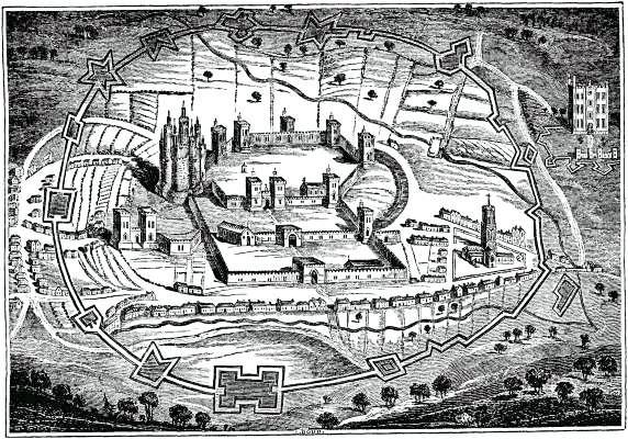 Pontefract_Castle_1648