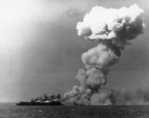 Sea Battles Princeton_burning