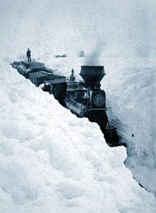 Train_stuck_in_snow - worst blizzards in history
