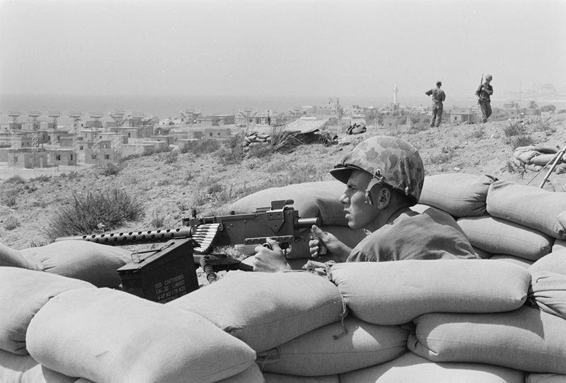800px-Foxhole_-_Lebanon_-_Beirut_-_July_1958