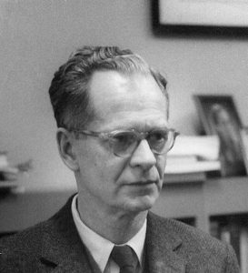 Famous psychologists B.F._Skinner_at_Harvard_circa_1950