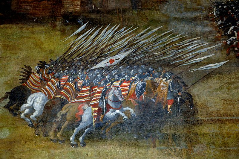 Kłuszyn_1610 heroic cavalry charges